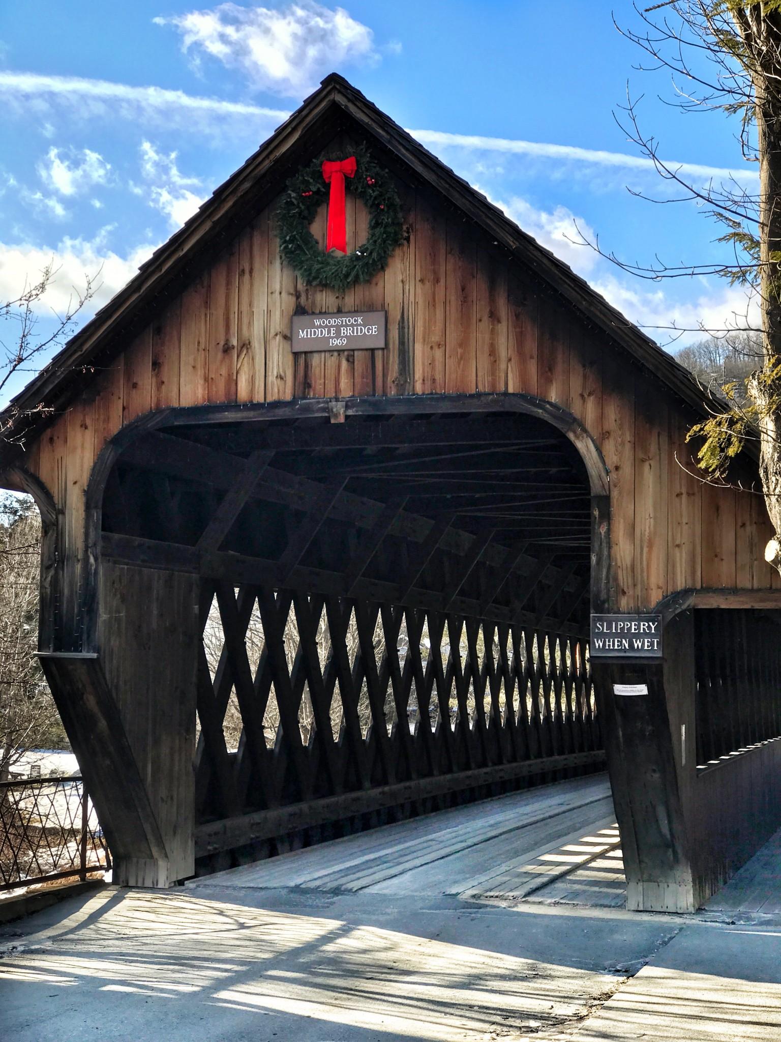 middle bridge, woodstock, vermont, the-alyst.com