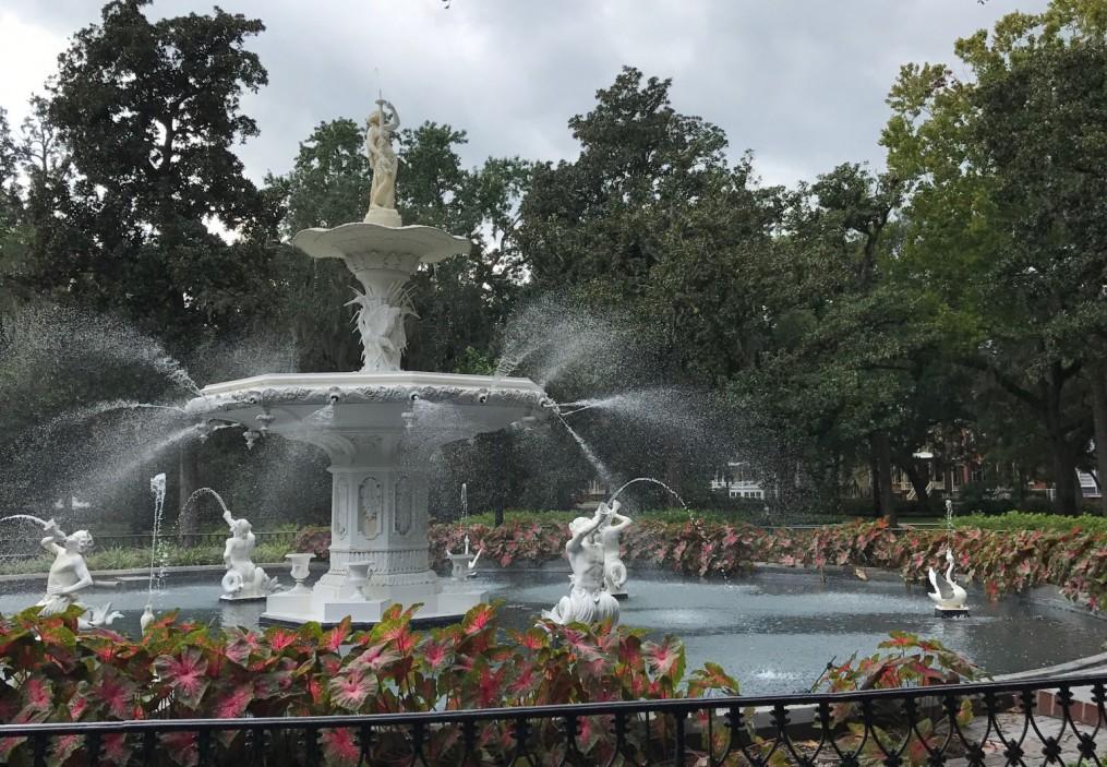 forsyth park, savannah, georgia, the-alyst.com