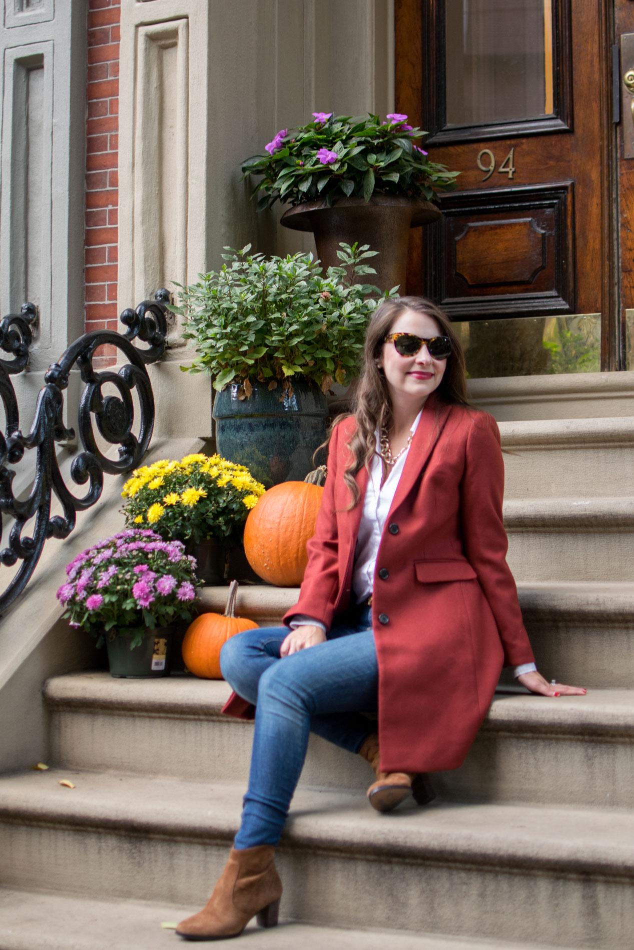 stylish fall coats, j.crew parke topcoat, boston, the-alyst.com