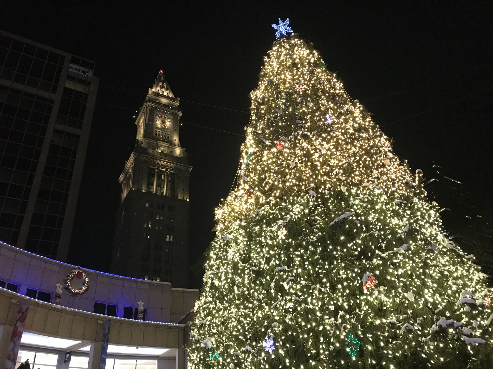 Where to see holiday lights in boston the a lyst a boston based blink at faneuil hall marketplace boston the alyst sciox Images