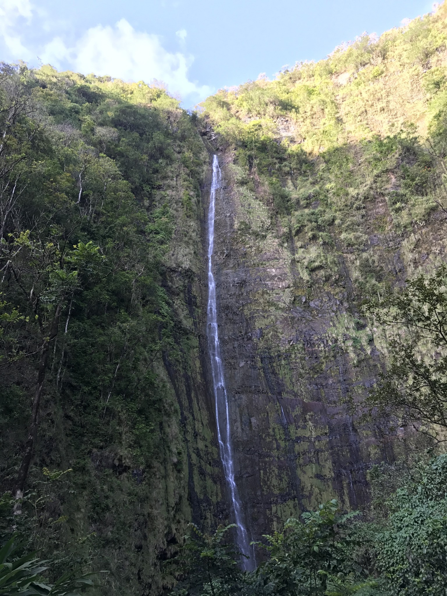 Waimoku Falls, road to hana, haleakala national park, the-alyst.com