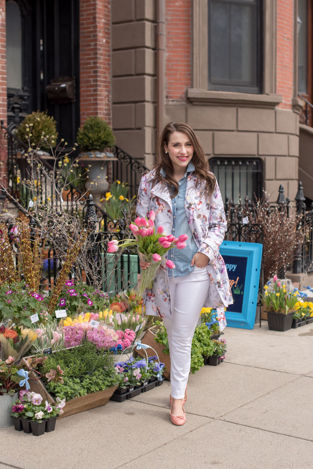 Best Spring Coats, floral jacket, the-alyst.com