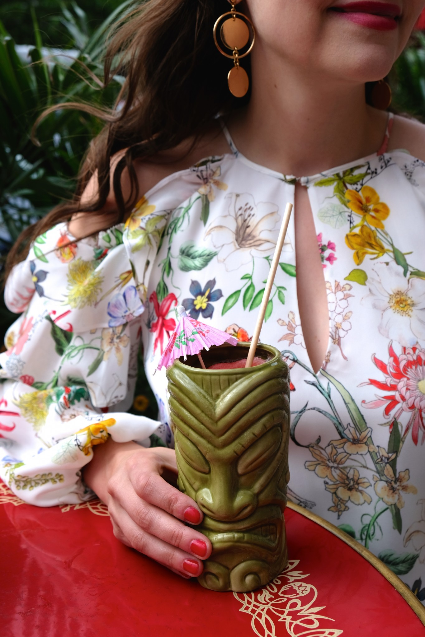tiki cocktail, patio dining, fairmont copley plaza, oak long bar and kitchen, boston, the-alyst.com