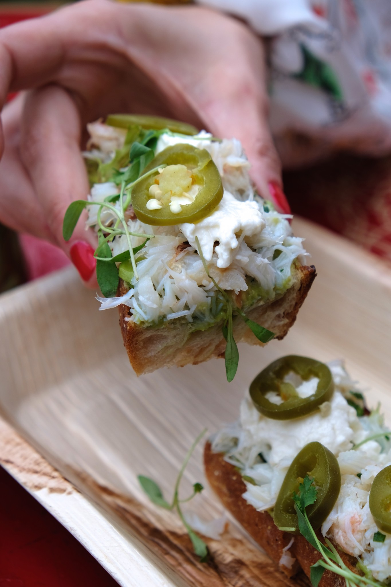 crab and avocado toast, patio dining, fairmont copley plaza, oak long bar and kitchen, boston, the-alyst.com