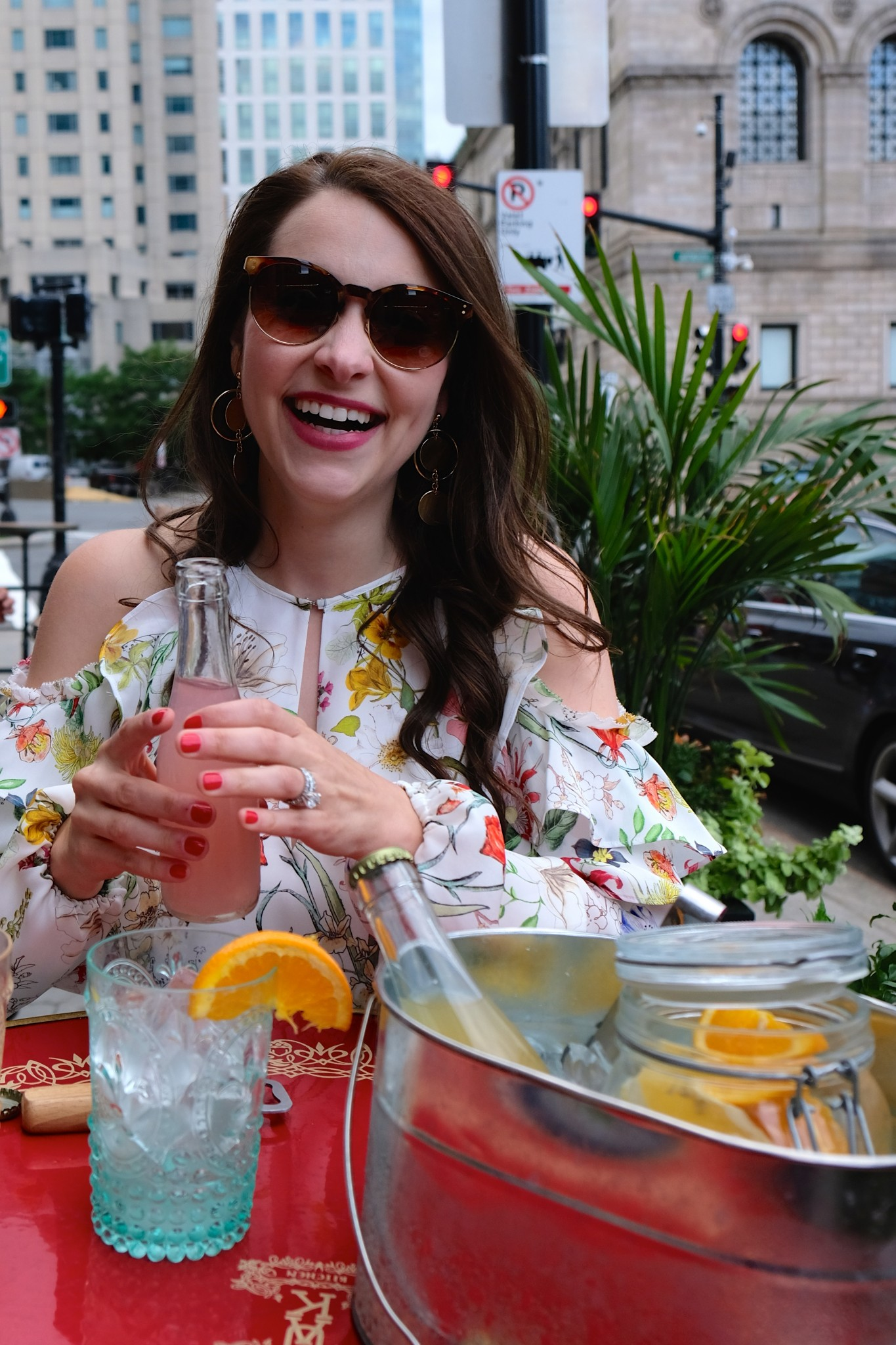 bottled cocktails, patio dining, fairmont copley plaza, oak long bar and kitchen, boston, the-alyst.com
