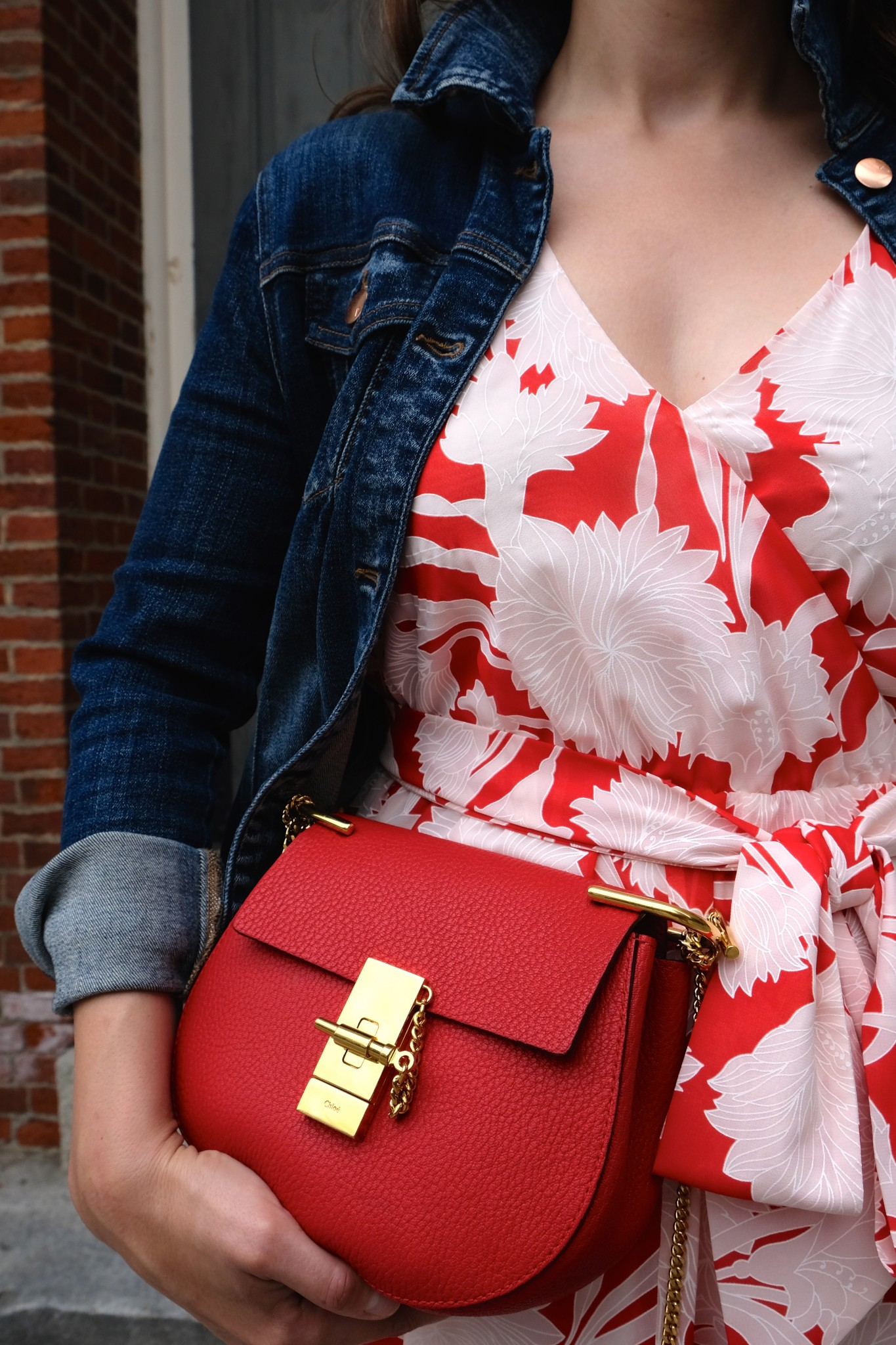 red chloe bag, the-alyst.com