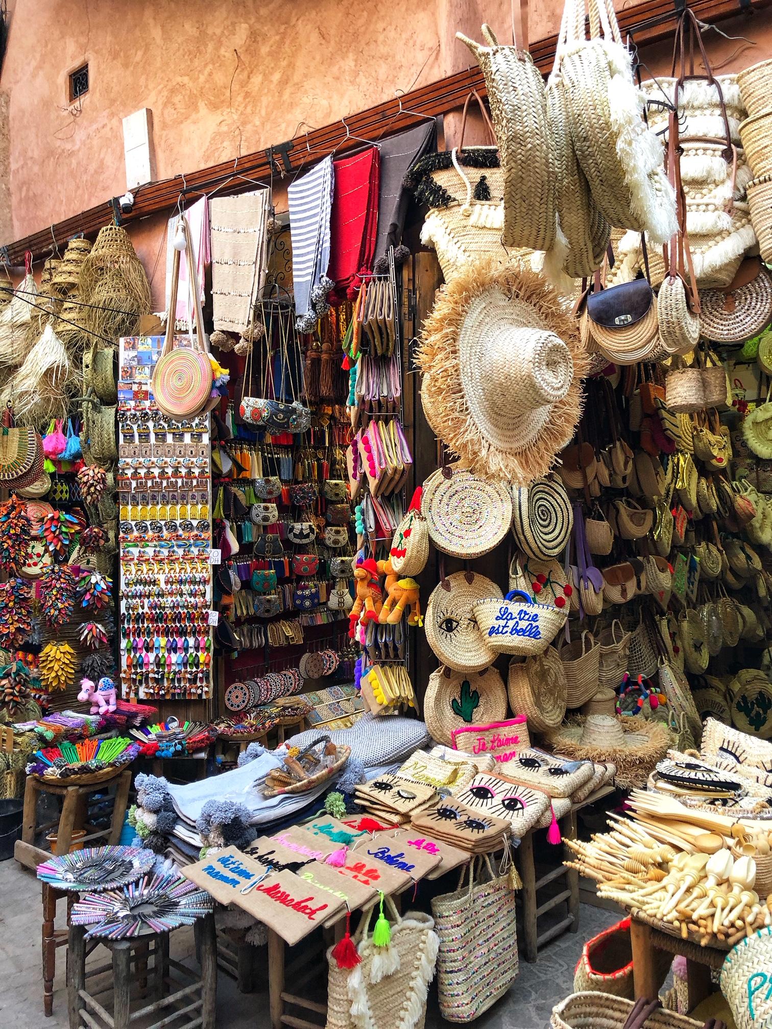 marrakech souk, morocco, the-alyst.com