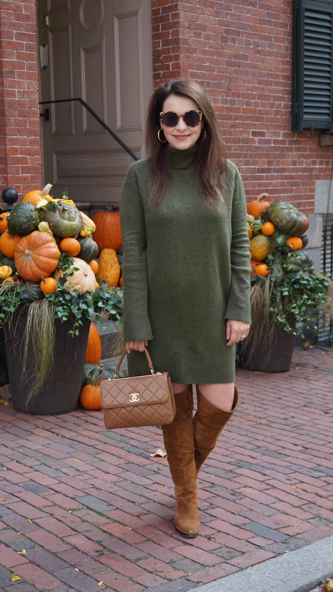 fall sweater dress, the-alyst.com